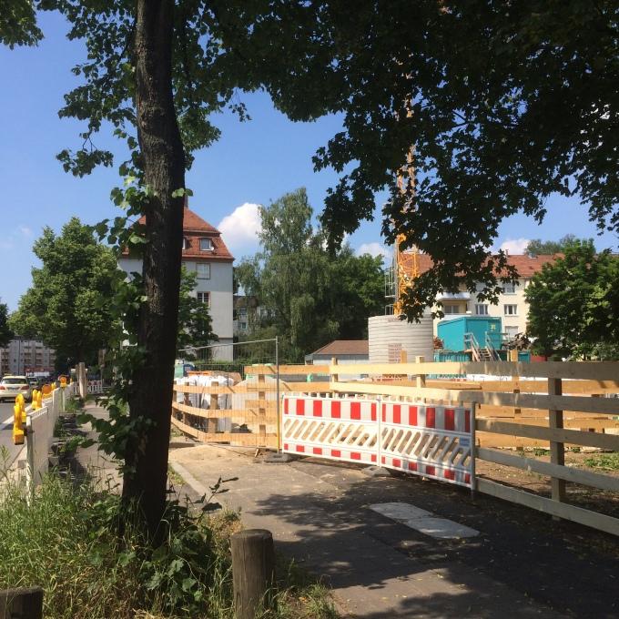 Zentralhort Welserstraße in Nürnberg:Baubeginn